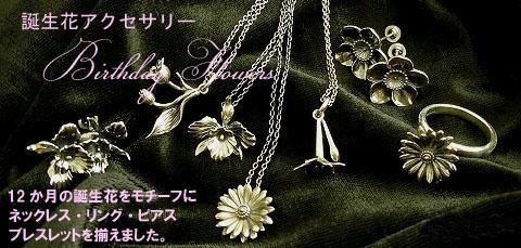 シルバーアクセサリー通販 メンズ/誕生花アクセサリー